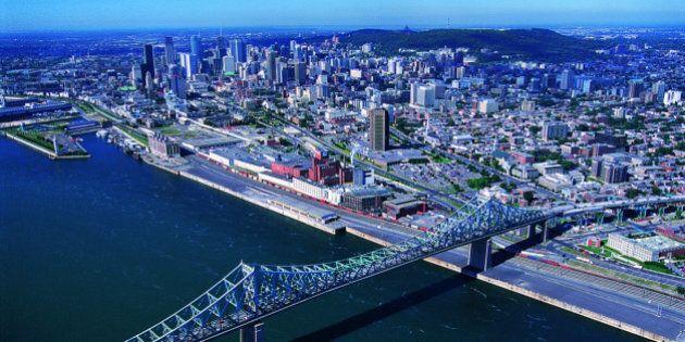 Pont Jacques Cartier, Montreal, Quebec,