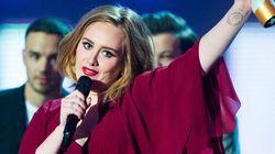 Adele sacrée reine de la scène musicale britannique