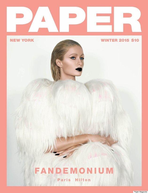 Paris Hilton se dénude pour l'édition d'hiver du magazine Paper