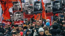 Moscou : grande marche à la mémoire de Boris Nemtsov