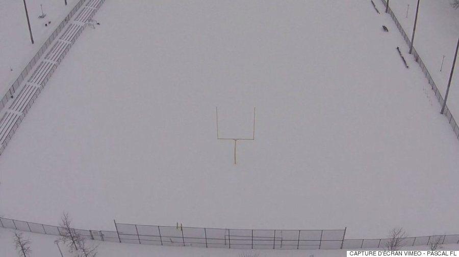 Montréal vu du ciel grâce à un drone