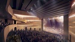 La construction de la nouvelle salle de spectacle de Saint-Jérôme a
