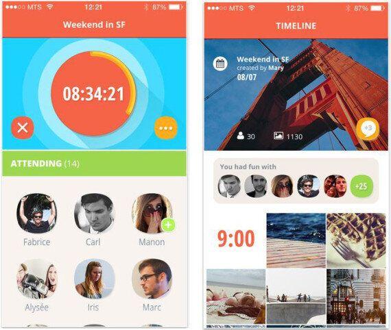 Flashgap: l'appli de partage de photos inspirée du film «Lendemain de