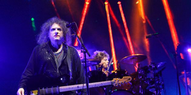 The Cure perform on Day 2 of the 2013 Austin City Limits Music Festival at Zilker Park on Saturday, Oct....