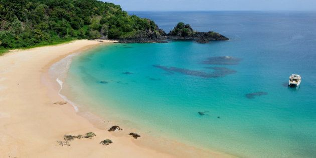 Baia do Sancho is most beautiful beach in