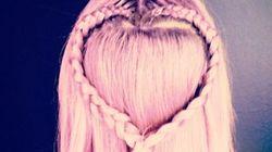 Cette coupe de cheveux en forme de coeur est la plus mignonne