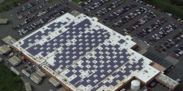The Walmart in Caguas, Puerto Rico is one of five Walmart facilities on the island equipped with solar...