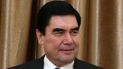 Un hymne du président de Turkménistan bat un