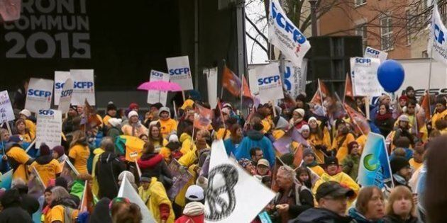 Les négociations progressent avec Québec sur les conditions de travail, dit la