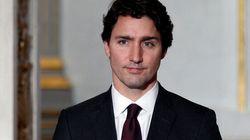Entrée en scène de Trudeau à la