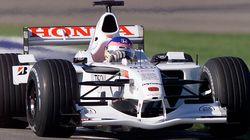Aux enchères : la BAR Honda 2001 de Jacques Villeneuve