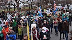 Foule monstre à Ottawa pour le climat