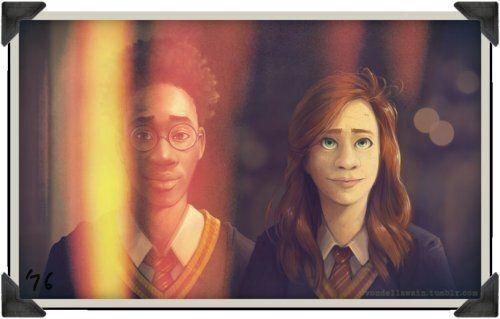 Harry Potter: et si les personnages avaient la peau noire?