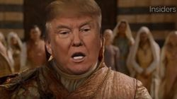 Apparemment, Donald Trump ferait un bon personnage de Game of