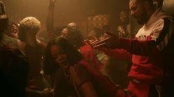 Rihanna ne boude pas le twerk pour les clips de «Work» avec Drake