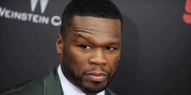 50 Cent (Curtis Jackson) attends the premiere