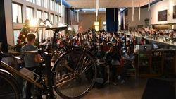 Le vélo d'hiver séduit les Montréalais