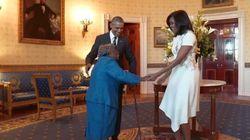Cette centenaire qui danse à la Maison-Blanche va illuminer votre journée