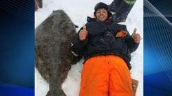 Un flétan de 70 kilos pêché à La