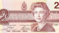 Il y a 20 ans, le billet de 2 dollars