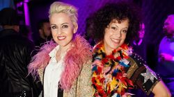 Styles de soirée: carnaval coloré pour la fondation KANPE