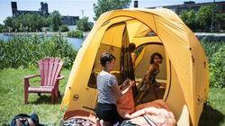 Un camping urbain à Montréal dès
