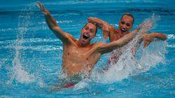 Voici le 1er homme champion de nage