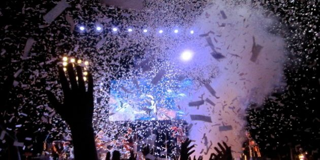 Arcade Fire began their 2010 tour by headlining Osheaga in their hometown of Montreal at Parc Jean Drapeau...
