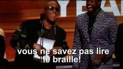 Stevie Wonder s'est moqué des voyants... et c'est très drôle