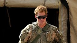 Le prince Harry quitte
