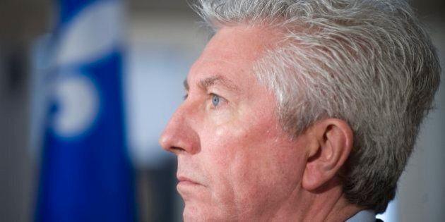 Gilles Duceppe en campagne cet été: le Bloc québécois est confiant, malgré les