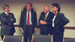 Des photos inédites montrent l'administration Bush le 11 septembre 2001