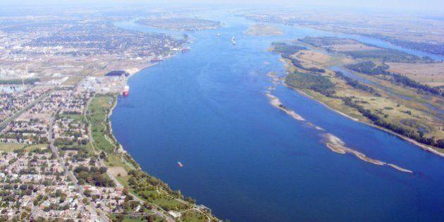 St-Lawrence River (Québec, Canada) - vue