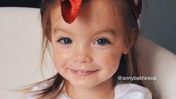 Voici Anastasiya: l'une des plus adorables petites filles au monde qui va vous faire