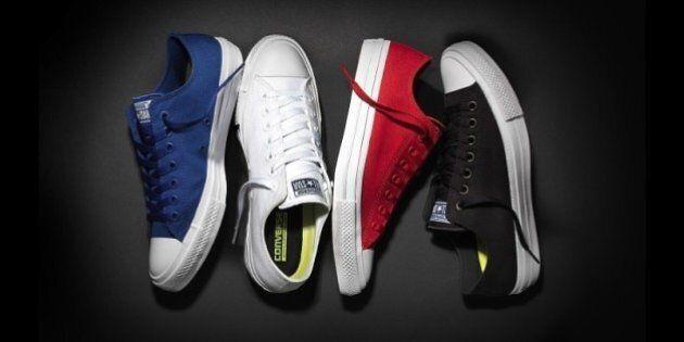 Converse lance les Chuck Taylor All Star II un nouveau modèle de chaussures