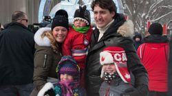 Le passage de la famille Trudeau en PHOTOS au Carnaval de