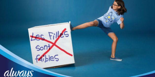 Always #CommeUneFille, rien ne t'arrête: parce que 72 % des jeunes filles se sentent freinées par la