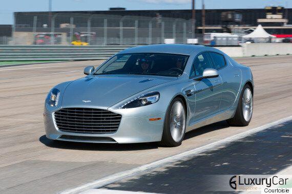 Essai Aston Martin sur piste : la marque qu'on oublie