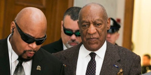 Actor and comedian Bill Cosby arrives for a court appearance Wednesday, Feb. 3, 2016, in Norristown,...