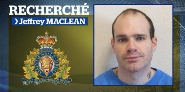 Le détenu fugitif de Moncton, Jeffrey MacLean, est