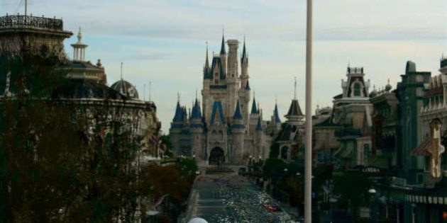 Une vision post-apocalyptique de Walt Disney World
