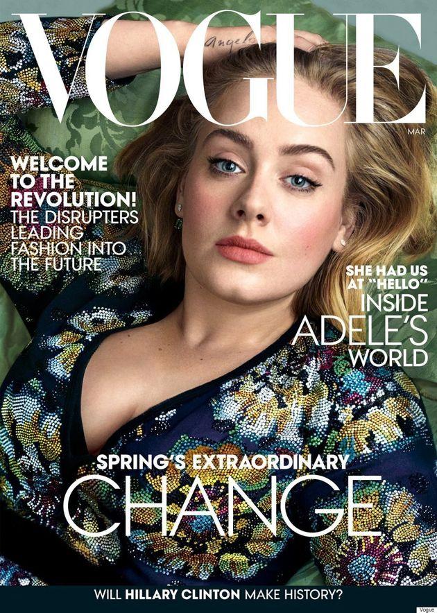 Une deuxième couverture de Vogue pour Adele: magnifique!