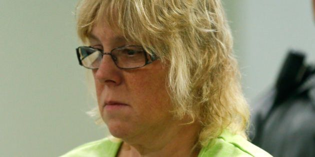 PLATTSBURGH, NY - JUNE 12: Joyce Mitchell is arraigned in City Court June 12, 2015 in Plattsburgh, New York. Mitchell was arrested Friday for allegedly helping two convicted murderers, David Sweat and Richard Matt, escape the maximum security section of the Clinton Correctional Facility in Dannemora nearly a week ago. (Photo by Mike Groll-Pool/Getty Images)