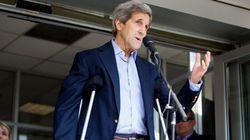 Sorti d'hôpital, Kerry assure qu'il finira les négociations avec