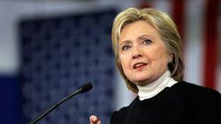 Hillary Clinton: regarder loin