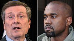 Non, Monsieur le maire, Kanye West n'est pas une star canadienne