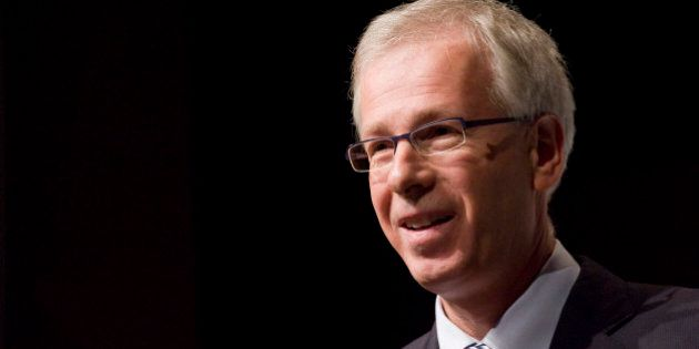 10/09/08 - HALIFAX, NOVA SCOTIA - Liberal leader Stephane Dion speaks to the Halifax Chamber of Commerce...