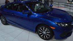 Honda présente la Civic Coupe 2016