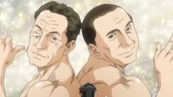 Sarkozy et Berlusconi en couple dans un manga