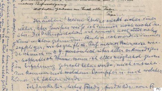 Des lettres d'Albert Einstein vendues plus de 400 000